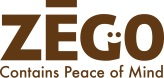 ZEGO logo brown